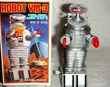Vintage Lost in Space Robot Masudaya Japan 1985 YM-3 Wind-Up Mint In Box MIB