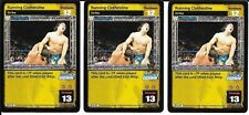 WWE RAW DEAL - 3X Running Clothesline THROWBACK FREE SHIPPING* RARE Playset