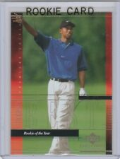 TIGER WOODS ROOKIE CARD Upper Deck Premier Edition ROY RC Golf Collectibles LE