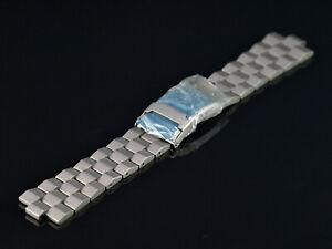 Old Stock Genuine OEM Glycine 24MM Sandblasted SS Bracelet For Model 3804