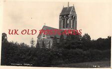 Worcestershire - WYTHALL, St Mary's Church,  Real Photo.