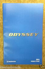 Genuine Honda Odyssey 2015 Owner's Manual - Owners Owner Guide