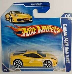 Hot Wheels Ferrari F430 Challenge - HW Racing - yellow - 2010 - new/sealed
