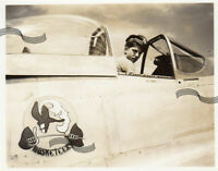 WWII USAAF P-51 F-6 Mustang 71 TRG 110 TRS Nose Art Philippines 1 ORIGINAL Photo