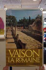 Vaison la Romaine Poster Grafik  1970er Jahre   98x63 G62