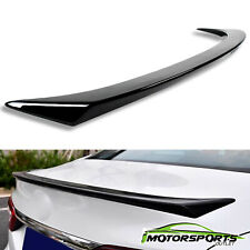 For 2018-2019 Toyota Camry Sport Style Black Paintable Rear Trunk Spoiler Wing