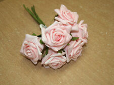 Fabric Rose Wedding Flowers, Petals & Garlands