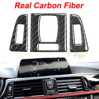 Car Front Air Vent Panel Decor Sticker Accessories For BMW 3 Series 4 F30 F31