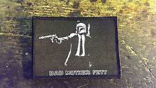 """Pulp Fiction and Star Wars Inspired """"Bad Mother Fett"""" Morale Patch"""
