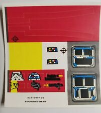 Vintage Star Wars Imperial Troop Transport Replacement Sticker - Peel & Stick