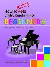 HOW TO BLITZ SIGHT READING FOR BEGINNERS SAM COATES BLITZING NOTE READING