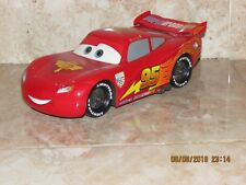 9'' DISNEY CARS TALKING LIGHTNING MC QUEEN CAR WITH DRIVING ACTION