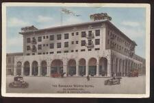 POSTCARD El Centro CA THE  BARBARA WORTH HOTEL