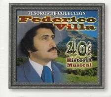 Federico Villa 40 Anos de Historia Musical Tesoros de Coleccion 3CD Box set