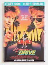 License to Drive FRIDGE MAGNET (2 x 3 inches) movie poster corey haim feldman