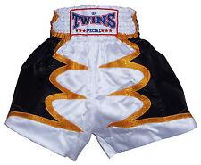 Shorts Thai Boxing Muay Thai Twins Polyester Satin all Sizes