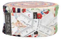"Moda, Good Times, Jelly Roll, 2.5"" Fabric Quilt Strips, 21770JR, J11"