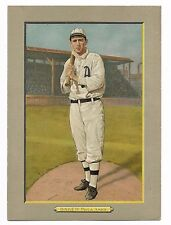 1911 T3 TURKEY RED FRANK HOME RUN BAKER HOF #78 AD BACK