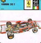 FERRARI 312 T 1975 : Fiche Auto Collection
