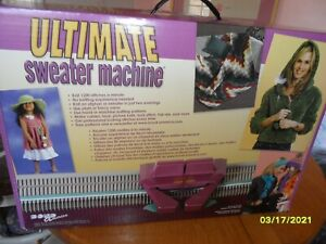 The Ultimate Sweater Machine/ open box never used