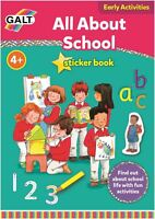 Galt ALL ABOUT SCHOOL BOOK Children Educational Toys And Activities BN