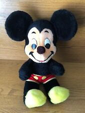 """VINTAGE MADE IN USA WALT DISNEY 17"""" MICKEY MOUSE STUFF PLUSH DOLL TOY"""