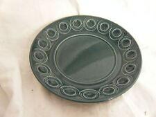 C4 poterie Portmeirion Jupiter bleu plaque latérale 18 cm 2C7B