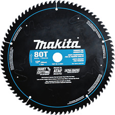 Makita A-94801 12-Inch 80 Tooth Ultra Coated Quiet Cutting Mitersaw Blade