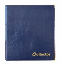 Blue Coin Album 221 Coins Mix Sizes Book Folder Big Capacity for Extra Pages /C