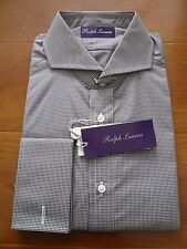 NWT $450 RALPH LAUREN PURPLE LABEL KEATON SHIRT SZ 16, MADE IN ITALY