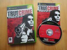 True Crime Streets of LA XBOX Jeu Vidéo