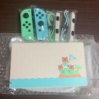 Dock & Joycon ONLY Nintendo Switch Animal Crossing New Horizons Shipping Free