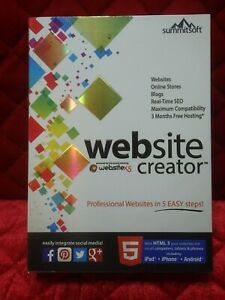 Website Creator v 9.0 by Summitsoft