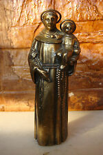 SAINT ANTHONY AND INFANT JESUS BEAUTIFULLY DETAILED FIGURINE STATUE