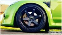2x Ford Focus RS Bremssattelschilder Gelembleme nach Wunsch Badge