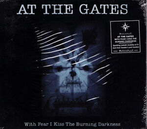 AT THE GATES With Fear I Kiss The Burning Dark UK Peaceville CDVILEM 97 2001 CD