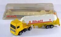 Majorette Magirus Shell Articulated Road Tanker Diecast Truck Lorry Trailer
