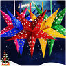 30cm Xmas String Hanging Star Christmas Party Decoration Christmas Tree Ornament