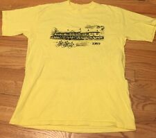 Vintage 1989's Sportswear Bicycle Racing Cycling Yellow Color Jersey. Size L