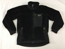 Women's Mountain Hardwear Black Deep Pile Monkey Fleece Jacket Size M