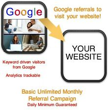 Website Visitors- 5 days/2000 Google Referrals/Visitors to your website