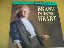 "PAUL REIN BRAND NEW HEART 7"" MINT- SINTH-POP ITALO DISCO"