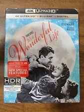 It's A Wonderful Life (4K Ultra HD + Blu-Ray + Digital + slip cover Brand new )