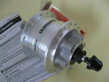 DH-3D32 QR VR Nabendynamo Shimano 32 Loch 6-Loch Disc silber NEU