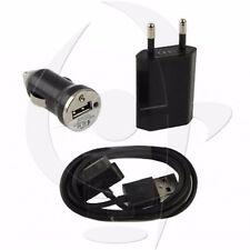 LOTTI Kit CARICABATTERIA AUTO CAVO USB una scelta per IPHONE 3, 4, 4s IPOD