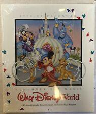 Walt Disney World 25th Anniversary 15-Month Calendar New 1996-97