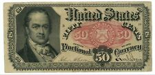 Fr. # 1381 Fifth Issue 50 Cents Fractional Currency 1874-1876