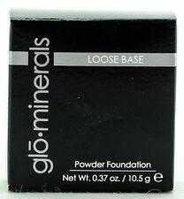 Glo Minerals Loose Base Powder Foundation -Golden Medium- 0.37 oz/10.5g NIB AUTH