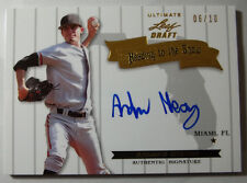 2012 Leaf Ultimate Draft Andrew Heaney Heading to the Show Auto RC 6/10 HS-AH1