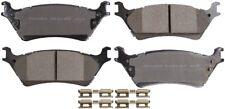 Disc Brake Pad Set-ProSolution Ceramic Brake Pads Rear fits 11-12 Ford F-150